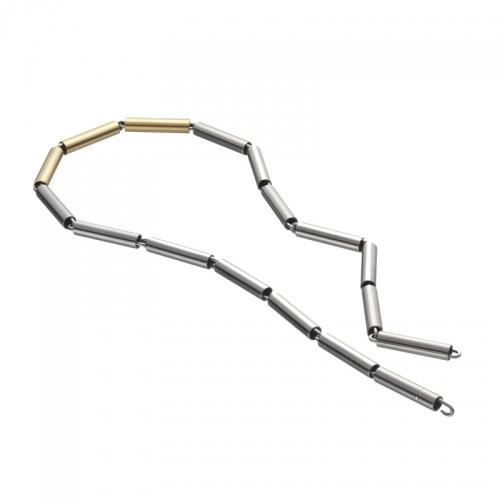 Apero Schmuck, Halskette Rörhli, ein unkomplizierter Halsschmuck von den Schweizer Gestaltern.