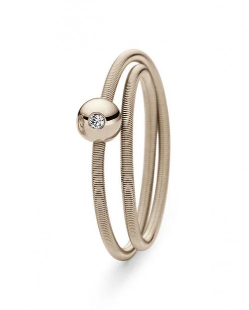 Stilvoller Niessing-Ring mit unendlich vielen Kombinationsmöglichkeiten.