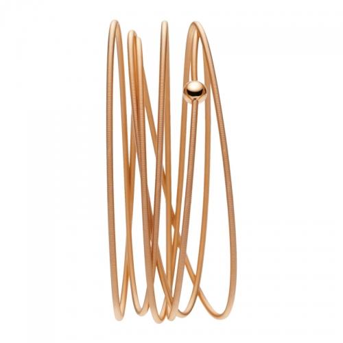 Niessing Colette Armband / Armreif bestehend aus Rotgold, 6fach gewickelt. Locker, schlicht, besonders.