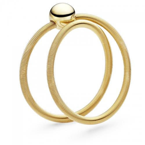 Niessing Colette, die Schnur als Ring. Ein feiner, zarter Ring der sich an den Finger anschmiegt und zum sammeln einlädt.