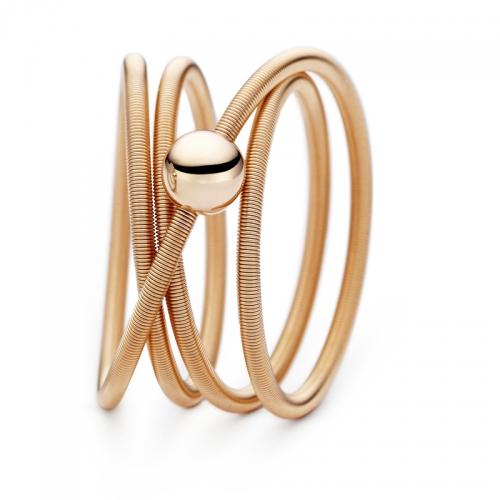 Niessing Colette Ring. Die Niessing-Schnur als Ring, weich und zart schmiegt sich der feine Ring an Ihre Hand.