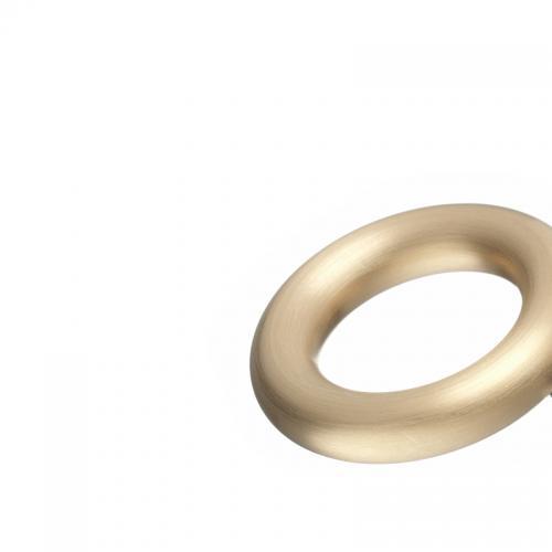 Die Einfachheit der Rundung, oder anders, immerrund. Auch in Gold.