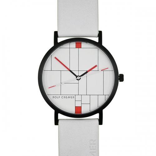 Sportliche Uhr in spannendem Design von Rolf Cremer.